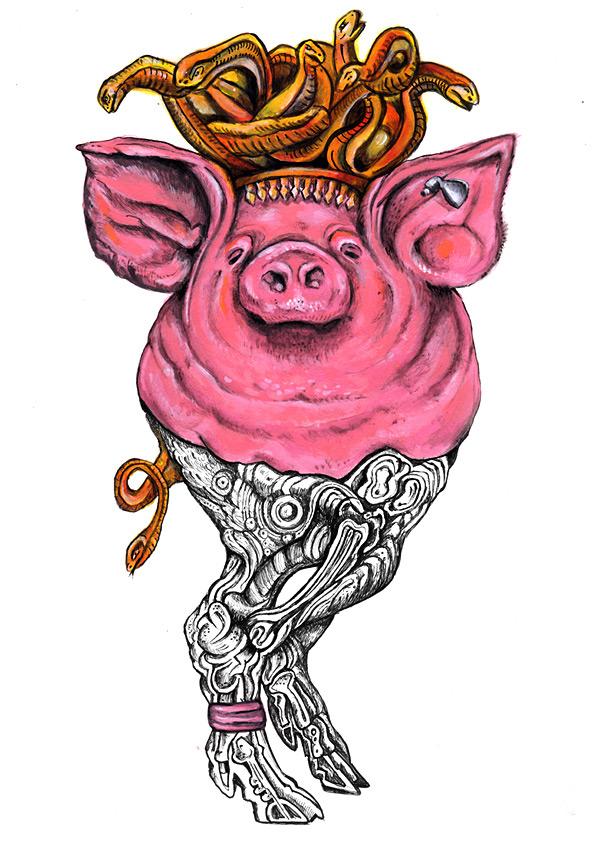 Medusa Pig