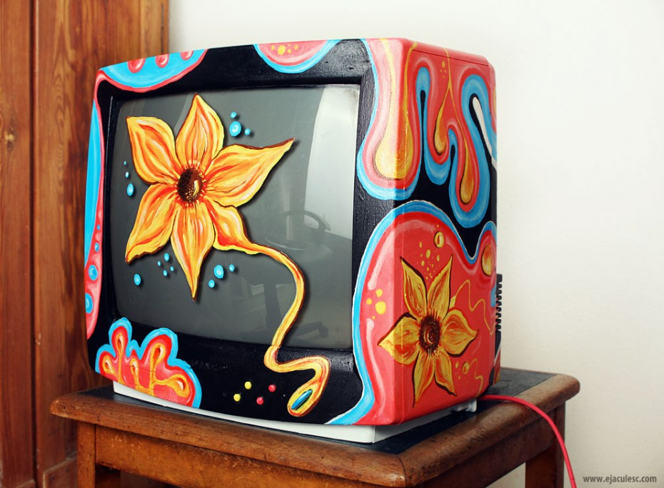 painted tv