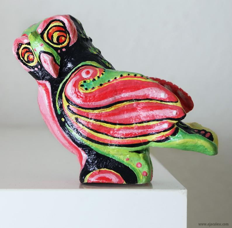 clay owl 2