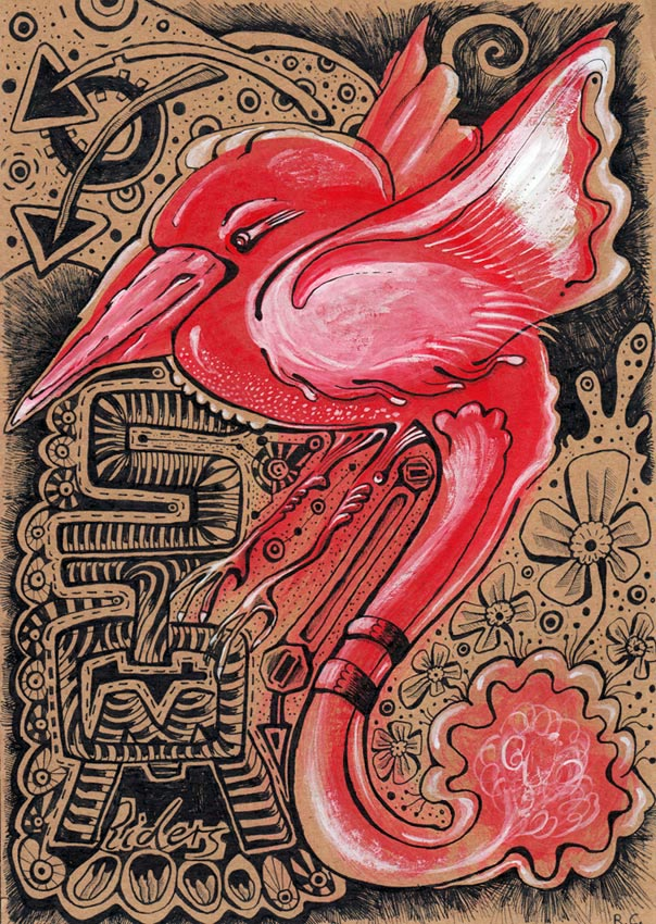 redbird painting