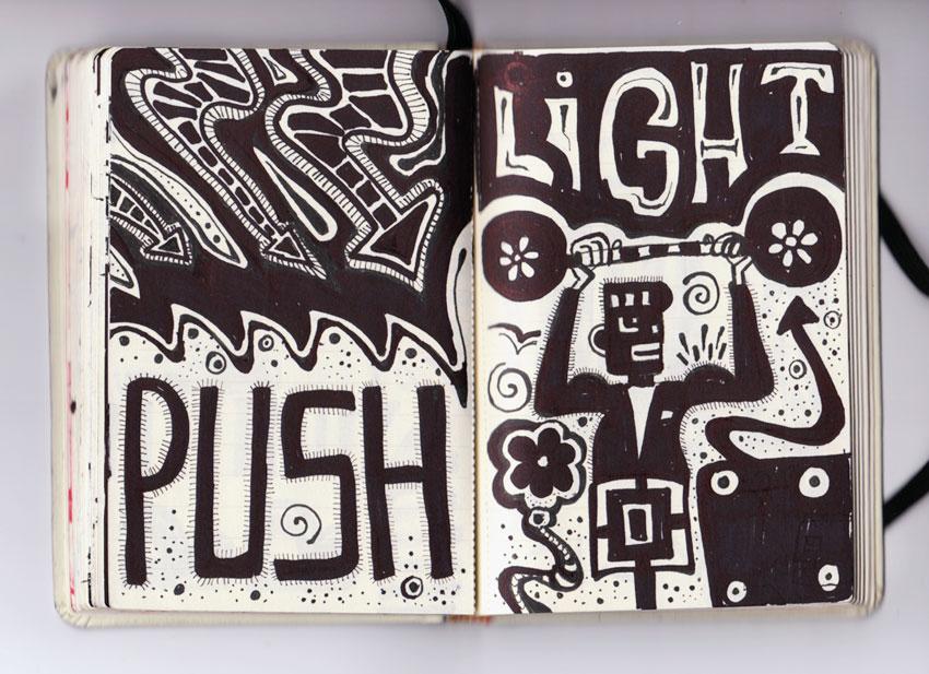 sketchbook light