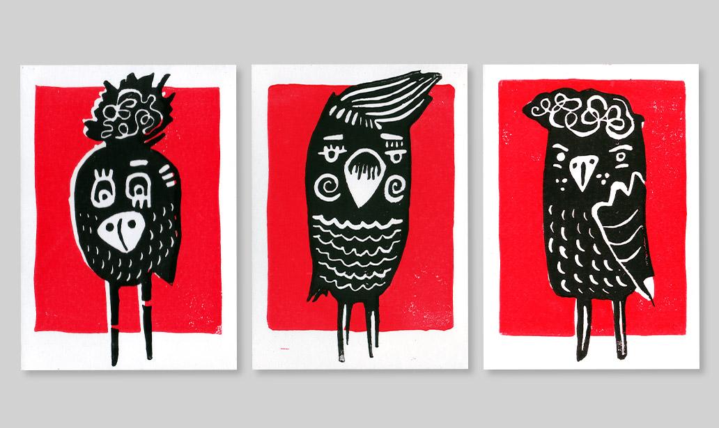 birds-trio